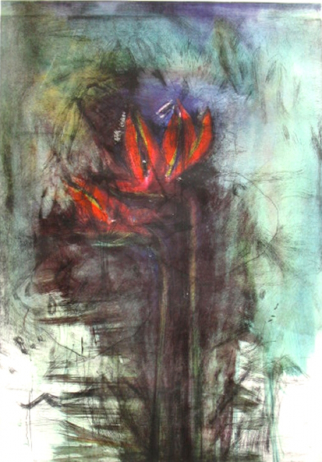 Jim Dine - Bird of paradise